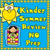 Kinder Summer No Prep Review