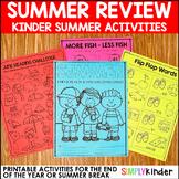 Summer Packet for Kindergarten - Summer Review Packet Kindergarten