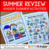 Summer Packet for Kindergarten - Summer Review Packet Kind