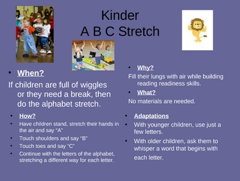 Kinder Transitions and Center Ideals