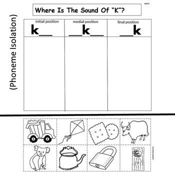 Kinder Treasures  Unit 8 Week 3  Sight Words little said here was  Phonics u k