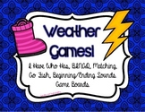 Kinder {{WEATHER GAMES}}