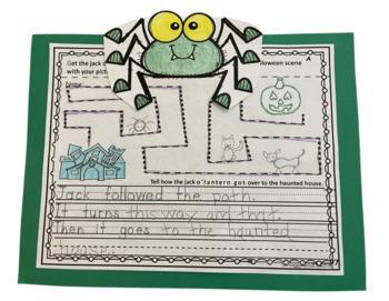 Kinder Writing Booklet