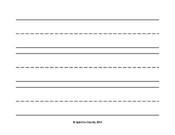 Kinder Writing Lines (English)
