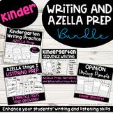 Kinder Writing and AZELLA Prep Bundle