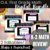 Kinder and 1st Grade | Addition and Subtraction Digital Math Activity Bundle