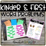 Kinder and First Grade Word Problems