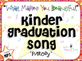"""Kinder graduation """"What Makes You Beautiful"""" song. Mp3 guide and instrumental."""