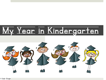 Kinder graduation book FREEBIE (English and Spanish)