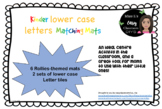 Kinder lower case letters Matching Mats