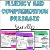 Kindergarten reading fluency and comprehension BUNDLE!