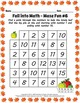 Kinder 1st Grade Fall Harvest Counting Number Sequences - 52 pages