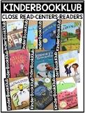 KinderBookKlub Bundle (A book club for kindergarten teachers!)