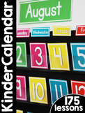 KinderCalendar Curriculum: Kindergarten Calendar Curriculum