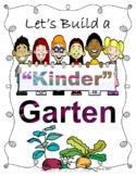 KinderGarten Poster Free #kindnessnation - Let's Build a Kinder Garten