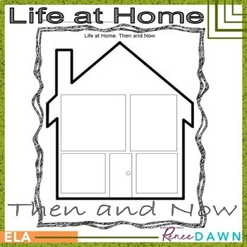 Life at Home Then and Now Printables