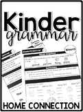 KinderGrammar Kindergarten Grammar Home Connection - Newsletters