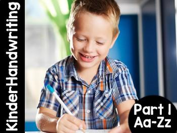 KinderHandwriting Kindergarten Handwriting Curriculum Part One