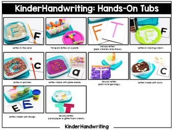 KinderHandwriting Kindergarten Handwriting Curriculum