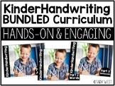 KinderHandwriting Kindergarten Handwriting Curriculum #FLASHBASH