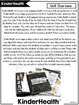 KinderHealth™ Kindergarten Health Curriculum