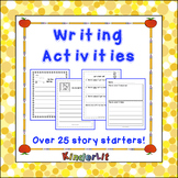 KinderLit Writing Process Activities