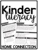 KinderLiteracy® Kindergarten Close Reads Home Connection - Newsletters