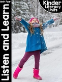 KinderLiteracy™ Kindergarten Close Reads Unit Four: Listen and Learn