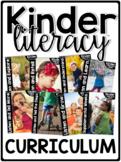 KinderLiteracy Curriculum Units BUNDLED