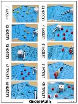 KinderMath: Aligned Center Mats