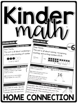 KinderMath™ Curriculum Home Connection
