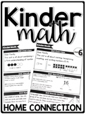 KinderMath™ Kindergarten Math Curriculum Home Connection Newsletters