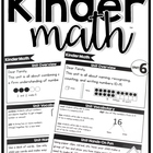 KinderMath Curriculum Home Connection