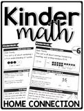 KinderMath Curriculum Home Connection
