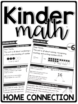 KinderMath™ Curriculum Home Connection