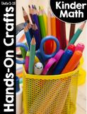 KinderMath® Kindergarten Math Hands-On Crafts