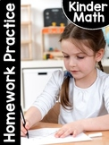 KinderMath®: Kindergarten Math Homework Practice