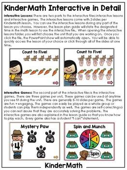 KinderMath® Kindergarten Math Interactive   DISTANCE LEARNING GOOGLE™ READY  