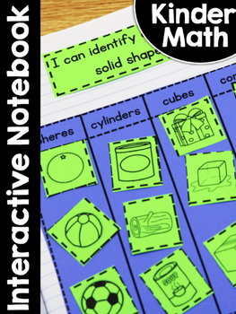 KinderMath Interactive Notebook
