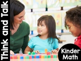 KinderMath: Kindergarten Math Think and Talk