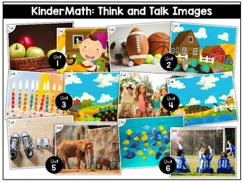 KinderMath: Kindergarten Math Think and Talk