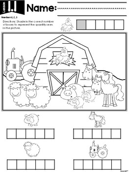 KinderMath™ Kindergarten Math Unit One: Numbers to 5