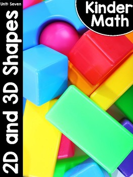 KinderMath™ Unit Seven: Flat and Solid Shapes