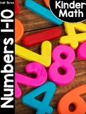 KinderMath® Kindergarten Math Unit Three: Numbers to 10