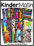 KinderMath® Kindergarten Math Curriculum Units BUNDLED   Homeschool Compatible  