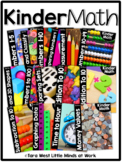 KinderMath® Kindergarten Math Curriculum Units BUNDLED | Homeschool Compatible |