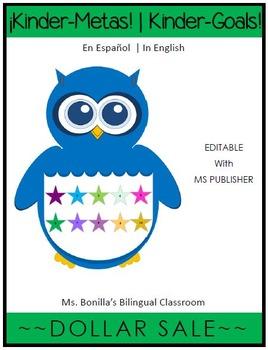 KinderMetas (Editable w/ Publisher)