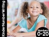 KinderNumberWriting: Numbers 0-20