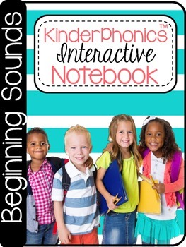 KinderPhonics® KinderPhonics Beginning Sounds Interactive Notebook