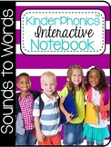 KinderPhonics® KinderPhonics Sounds to Words Interactive Notebook